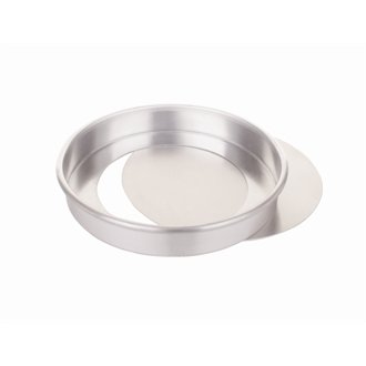 NextDay Cufflinks Catering CE019 Aluminium Lose Basis Sandwich Dose, 229 mm - Tin Base
