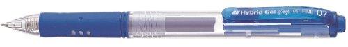 Preisvergleich Produktbild Pentel Hybrid Gel Grip Druck-Tintenroller 0,7 mm Schreibspitze 0,35 mm Strichbreite 12 Stück blau