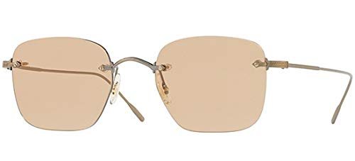 Oliver Peoples Brillen FINNE OV 1227 ANTIQUE GOLD/LIGHT BROWN Herrenbrillen