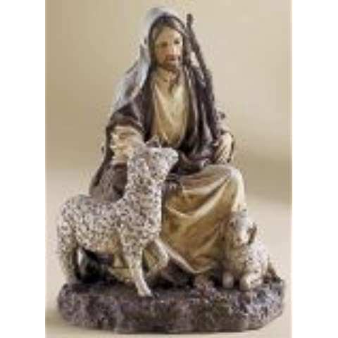 7.5 Inch the Good Shepherd Figurine By Josephs Studio 27014 by Roman