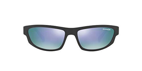 Ray-Ban Herren 0AN4260 Sonnenbrille, Mehrfarbig (Matte Black), 56.0