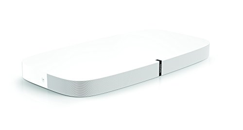Sonos PLAYBASE Soundbase Wireless per L'Home Theater e Lo Streaming Musicale, Bianco