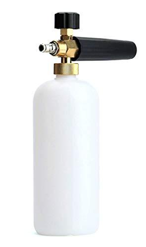 """fasmov coche lavar limpiador a presión Jet lavar 1/4""""liberación rápida ajustable nieve Espuma lanza espuma cañón espuma Blaster"""
