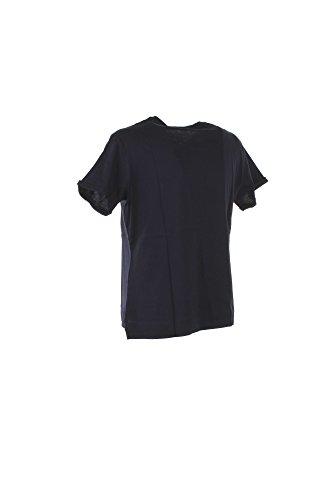Guess SS RN Triangle Studs, T-Shirt Donna BLU DPID