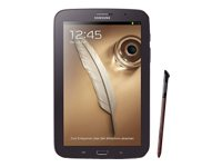 Samsung Galaxy Note 8.0 N5100 Tablet (20,3 cm (8 Zoll) Touchscreen, Cortex A9, 1,6GHz, Quad-Core, 2GB RAM, 16GB Speicher, 5 Megapixel, 3G, Android 4.1) braun/schwarz