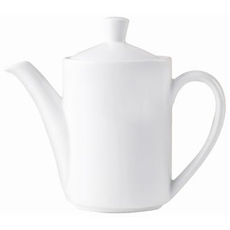 Steelite v7436Mónaco Vogue jarra para café, blanco (Pack de 6)