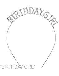 Arsimus Haarband mit Strasssteinen zum Geburtstag