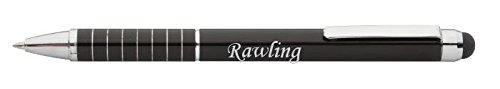 personalised-touch-screen-pen-stylus-with-text-rawling-first-name-surname-nickname