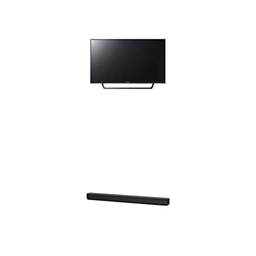 Sony KDL32RE405BAEP 80 cm (32 Zoll) Fernseher (HD Ready, Triple Tuner),Schwarz Plus HT-SF150 2-Kanal Soundbar (Verbindung über HDMI, Bluetooth und USB) Schwarz Sony Bravia Hd Ready Tv