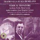 Verdi;Il Trovarote [Import anglais]