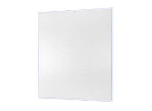 Insektenschutz für Fenster Basic mit Alurahmen in Weiß, Braun oder Anthrazit und Fiberglas-Gewebe in Schwarz, Bausatz zu Selbstmontage, Fliegengitter in verschiedenen Größen auswählbar