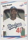 1988 Fleer # 510 Ralph Bryant Los Angeles Dodgers Baseball Card