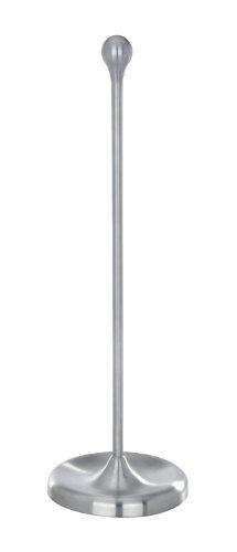 WENKO 20029100 Portarotolo di riserva Nova, Acciaio inossidabile, 17.2 x 54 x 17.2 cm, Satinato