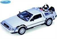 Welly 22441 - Sammlermodell DeLorean Back to the Future Teil 2 1/24 aus Metall