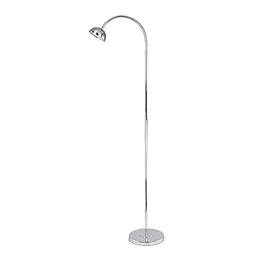 CRR ,Stehleuchte Stehleuchte Augenschutz LED energiesparende Moderne Wohnzimmer Schlafzimmer Bedside Study Fernbedienung Schönheit vertikale Tischlampe,Leselampe (Ausgabe : 9 watt dimmable) - Bernstein Metall-stehlampe