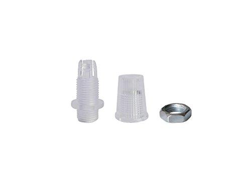 Prensacables | Pasacables M10x1 | para descarga de tracción lámparas colgantes, adecuado también para cables textiles