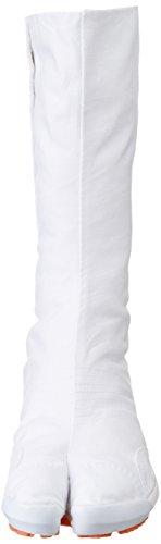 Jogging Jikatabi Schuhe mit Anti-Rutsch Sohle 12 Clips - Direkt aus Japan (Marugo) Weiß
