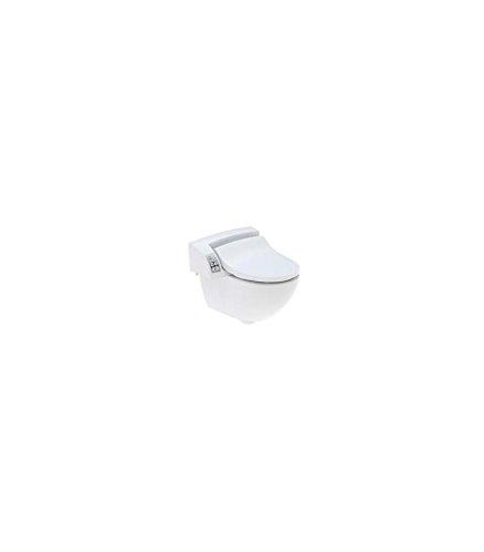 Geberit AquaClean 5000plus, Dusch-WC-Aufsatz, mit WC-Keramik
