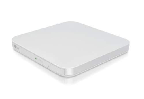 LG GP95EW70 Weiß Optisches Laufwerk - Optische Laufwerke (Weiß, Vorderseite, Notebook, USB 2.0, CD,CD-R,CD-ROM,CD-RW,DVD+R,DVD+R DL,DVD+RW,DVD+RW DL,DVD-R,DVD-R DL,DVD-RAM,DVD-ROM,DVD-RW, 1 MB) (Dvd Ripper-brenner)