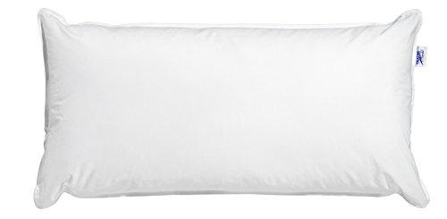 Traumnacht Medical Wasserkissen aus Baumwolle, 40 x 80 cm, weiß