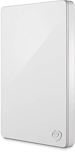 Seagate STDR1000307 Externe Tragbare Festplatte (inkl. Backup-Software und 2 Monate Adobe Creative Cloud Photography Plan), 1 TB, Weiss Limited Edition
