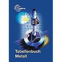 Tabellenbuch Metall mit Formelsammlung
