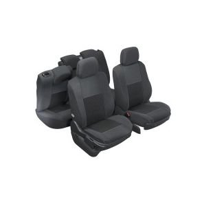 DBS 1011546 Coprisedili Auto / Vettura - Su Misura - Rifinizioni Alta Gamma - Montaggio Rapido - Compatibile Airbag - Isofix