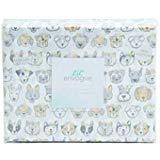 Lil Envogue Bettwäsche-Set für Hunde mit Blumenmuster, 100% Baumwolle, Schnauzer, Boston Terrier, Dackel, Bichon, Mops, Husky, Dalmatiner, Mutt Twin White, Pink, Green, Yellow, Grey -