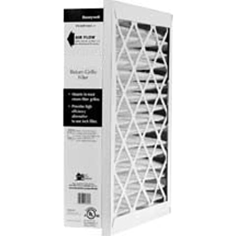 16x20x5 (15.75x19.75x4.38) MERV 10 Honeywell Grill Filter (2 Pack) by