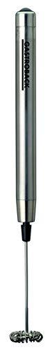 Gastroback 42215 Pen Milchaufschäumer, für Latte Macchiato, Cappuccino und Milchshakes, Edelstahlgehäuse, starker Motor, kabellos, 18/8 Edelstahl