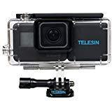 TELESIN 2300mAh batterie de secours pratique sac à dos batteries de secours de batterie prolongée avec boîtier étanche pour GoPro Hero 6/5 Accessoires