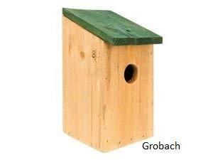 Spetebo Nichoir avec toit vert 6fbbf5595559