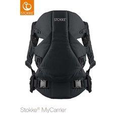 Stokke - Mochila portabebés ® mycarrier frontal negro