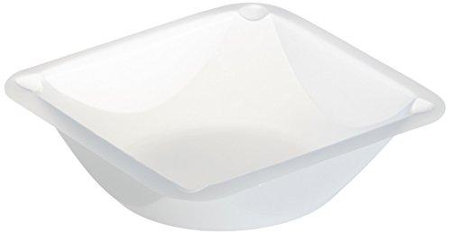 neoLab 1-1125 Einmal-Wägeschalen, 89 mm x 89 mm x 25 mm, Weiß (500-er Pack)