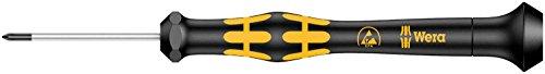 Wera 05030117001 1550 Kraftform Micro Kreuzschlitz-Schraubendreher, PH 000 x 40 mm