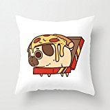 "18"" x 18"" Puglie Pizza Decorative Throw Pillow Case Cushion Cover"