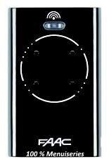 Télécommande FAAC XT2 868 SLH LR - Noir