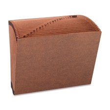Sparco Products SPR26537 Accordion Files-Pas-Flap-21 Pckts-AZ-Legal-15in.x10in -. Brown