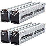 (2) RBC44 Compatible Replacement Battery Packs for SURT8000RMXLI, SURT8000RMXLT by UPSBatteryCenter