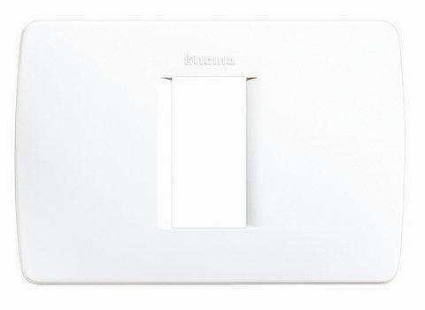 BTICINO C4803/1BN - LUNA - PLACCA MODULO 503 1P BIANCA