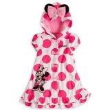 Disney Minnie Mouse pour fille Cover-up à capuche avec oreilles pour fille (3T)