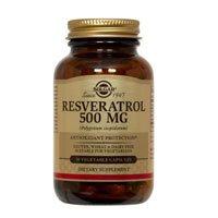 Solgar Resveratrol 500 mg Vegetable Capsules