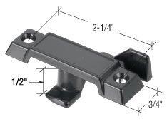 Black Sash Lock 2-1/4 Screw Holes - Acorn Windows by TechnologyLK