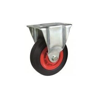 Afo 279/130gn–Rad Durchmesser 130Feste Euro/oder Gummi schwarz