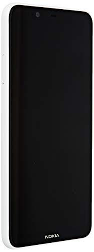 "Nokia 5.1 Plus - Smartphone de 5.86"" (4G, Mediatech Helio P60, RAM de 3 GB, memoria de 32 GB, cámara dual de 13+5 MP, Android 8.1) color blanco"