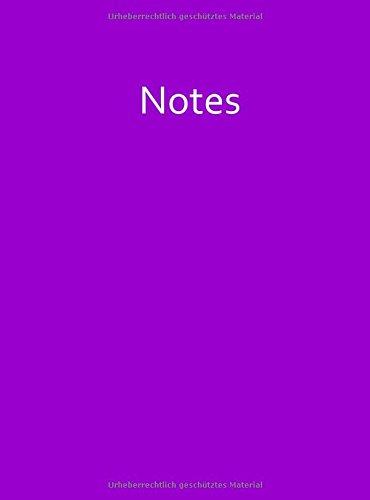 Mein lila Notizbuch - A4 - kariert - Veilchen: 100 Seiten