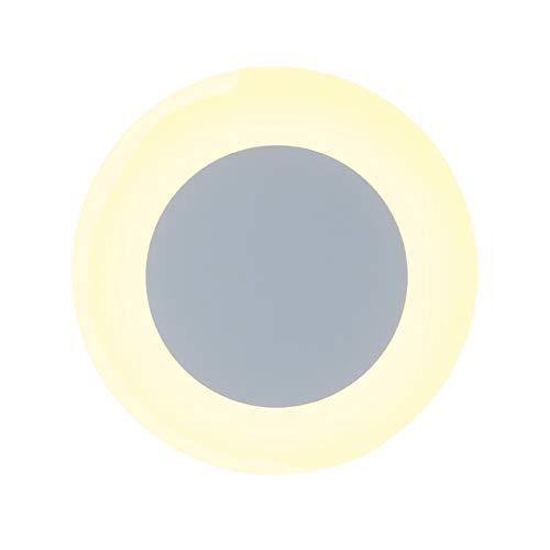 SUNA LED Round LED Applique Murale Personnalité Créative Simple Salon Chambre Lampe De Chevet (Energy Saving A ++)