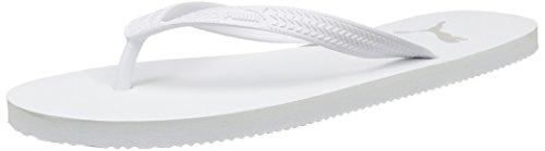 Puma First Flip, Unisex-Erwachsene Zehentrenner, Weiß (white-gray violet 04), 37 EU (4 Erwachsene UK)