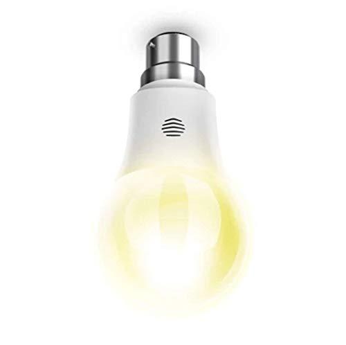 Luz ajustable Hive Active, vidrio, Blanco, B22 9W 220.24V
