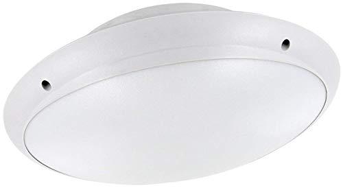 Saunaleuchte E27 IP65 230V - Wandleuchte Deckenleuchte PVC weiß-matt